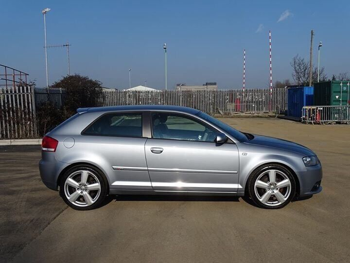 2006 06 Audi A3 Tdi Sport S Line 140bhp Dsg Auto Silver