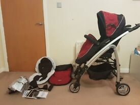 Graco Fusio travel system pram/pushchair