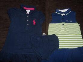 12-18 Girls Designer Tennis Dresses