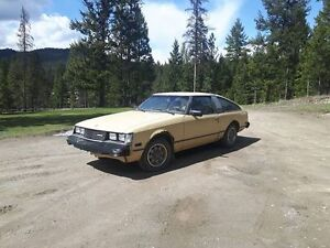 1980 Toyota Celica GT 5 Speed Hatchback
