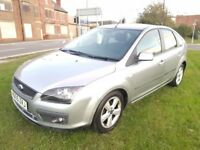 Ford Focus 1.6 petrol Zetec Climate 5dr 11 MONTHS M.O.T+DRIVES WELL