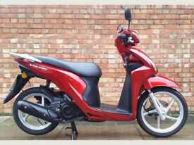 Honda Vision 110, 17 Reg with 2400 miles only