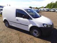 Volkswagen Caddy 1.6 Tdi 75Ps Van DIESEL MANUAL WHITE (2013)