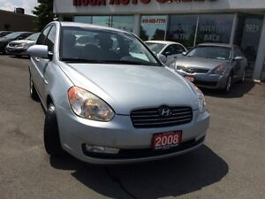 2008 Hyundai Accent GLS,AUTO,ICE AC,NO ACCIDENT,SAFETY,PW ALLOY
