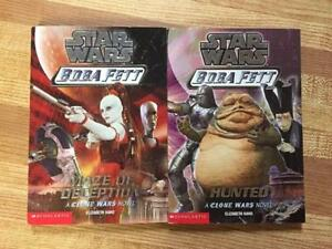 2 Star Wars Boba Fett Books (Ages 7-10)