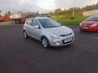 Hyundai i20 4 door manual petrol ideal first car low mileage long test