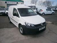 Volkswagen Caddy 1.6TDI 75ps Van DIESEL MANUAL WHITE (2012)