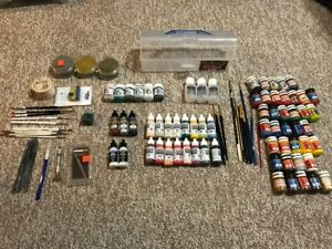 Large Warmachine  Lot:  Cryx, Retribution, Paints and tools Lot