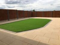 Gardening landscaping paving driveways patios flagging fencing artific