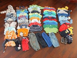 Baby boy clothing from 6-12m to 18-24m