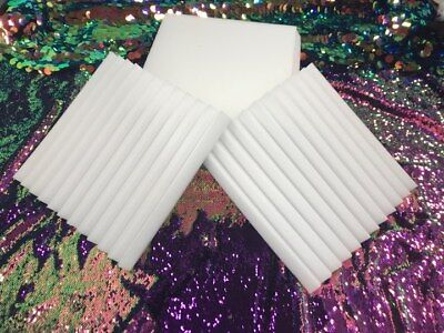 "Wedge foam acoustic - White Studios Sound Absorption Wall  1""X 12""X 12"" 24 Pack"