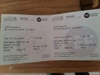 Collabro tickets x2