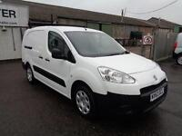 Peugeot Partner L 2 716S 1.6 HDI 92ps Crew Van DIESEL MANUAL WHITE (2013)