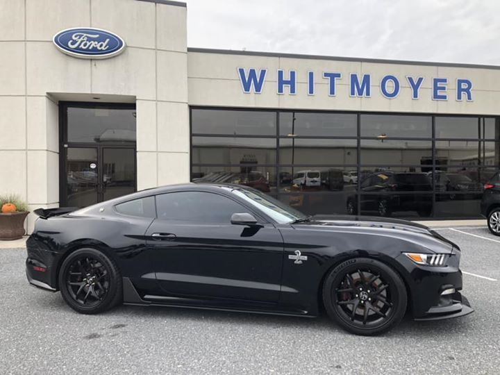 Used 2017 Black Ford Mustang  SUPERSNAKE Photo 1
