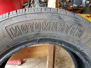 4 summer tires for sale good tread (8/32nds)