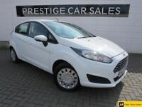 2014 Ford Fiesta 1.6 TDCi ECOnetic Style 5dr Diesel white Manual