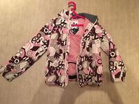 Girls Animal Ski Jacket size M