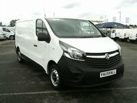 Vauxhall Vivaro 2900 1.6 VDTI 115PS H1 DIESEL MANUAL WHITE (2015)