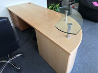 Large Reception Style Desk