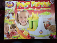 Childrens Toys - Lets cooks fruit factory create smoothies, juice and lollipops
