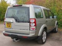 2009 59 LAND ROVER DISCOVERY 3.0 4 TDV6 GS 5D AUTO 245 BHP DIESEL