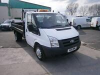 Ford Transit T350 Tipper Single Cab 100ps DIESEL MANUAL WHITE (2011)