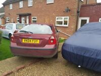 sale or exchange ford mondeo mk3 2004 with new tires no mot.