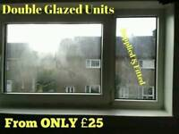 Misted Glass Replacement supplied & Fitted from only £25