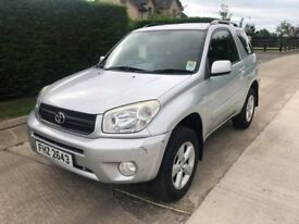 TOYORA RAV-4 **CHEAP FOR QUICK SALE; ONE OWNER**