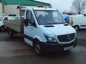 Mercedes-Benz Sprinter 313cdi 13ft Dropside 130ps New Shape DIESEL MANUAL (2014)
