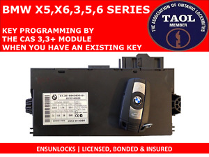 KEY PROGRAMMING FOR BMW BY THE CAS3, CAS3+ MODULE - 2ND KEY