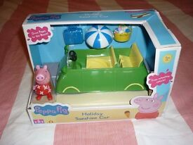 Brand new peppa pig play set