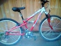 Mountain bike Apollo twin suspension bike 26 wheels