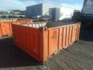 Open Top Shipping Containers Auction 24th September 10am