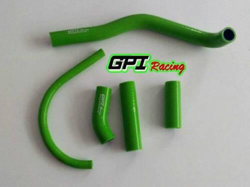 Green For Polaris Predator 500 03-06 03 2004 05 Radiator Silicone Hose Pipe Kit