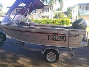 Boat, trailer and outboard Telina Gladstone City Preview