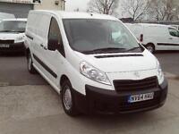 Peugeot Expert 1200 L2 HI 1.6HDI 90ps DIESEL MANUAL WHITE (2014)
