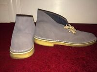 Clarks desert boots, size 9