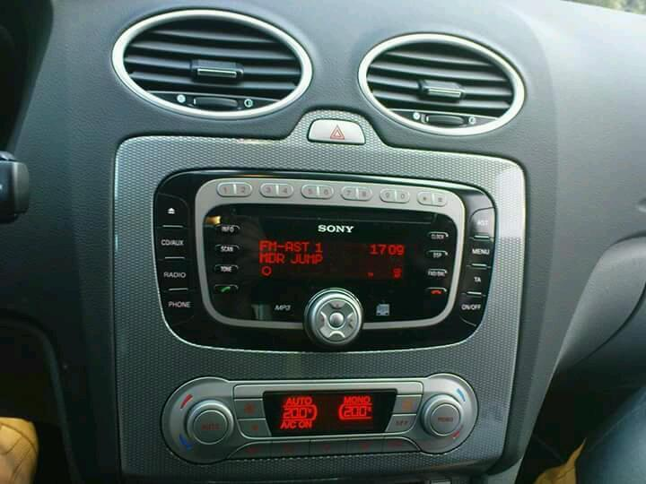sony radio cd ford focus 2008