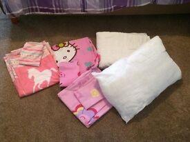 toddler duvet pillow &
