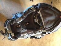 Berghaus womens rucksack 65ltr+10ltr