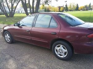 2001 Chevrolet Cavalier Sedan Downtown-West End Greater Vancouver Area image 2