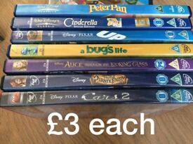 disney dvds some sealed prices on pictures collection gorleston