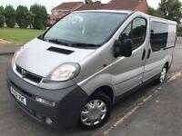 Vauxhall Vivaro 1.9DTI SWB 100BHP 📌Mot-02/11/18 📌Miles-190k 💺6 Seats Trafic 💺