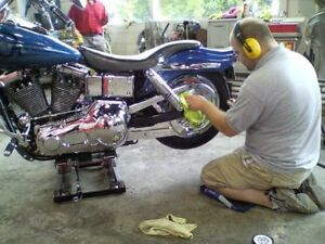 RIDING SEASON IS HERE-:-TIME TO DETAIL YOUR BIKE!