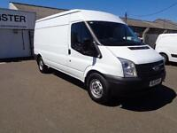 Ford Transit T350 LWB MEDIUM ROOF VAN TDCI 100PS DIESEL MANUAL WHITE (2013)