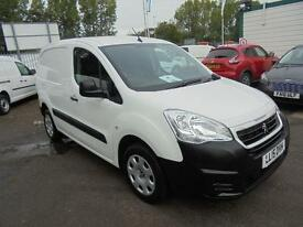 Peugeot Partner L1 850 1.6 Hdi 92 Professional Van DIESEL MANUAL WHITE (2015)