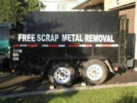 FREE SCRAP METAL AND APPLIANCES FREE REMOVAL AND FREE FRE PICKUP
