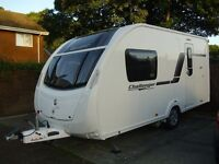 2013 Swift Challenger Sport 442 SR 2 Berth Touring Caravan