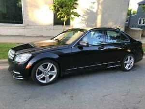 sold!2011 Benz C300 AWD  3.0 V6 Good Condition